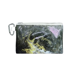 Black Ice Canvas Cosmetic Bag (S)