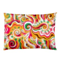 Sunshine Swirls Pillow Cases