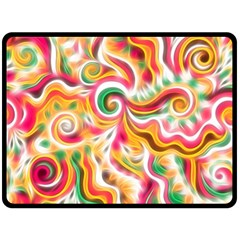 Sunshine Swirls Fleece Blanket (Large)