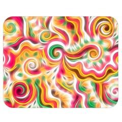 Sunshine Swirls Double Sided Flano Blanket (Medium)