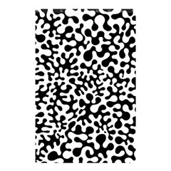 Black and White Blots  Shower Curtain 48  x 72  (Small)