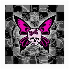Skull Butterfly Medium Glasses Cloth (2 Side)