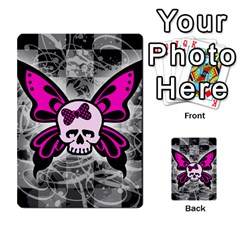 Skull Butterfly Multi-purpose Cards (Rectangle)
