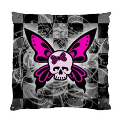 Skull Butterfly Standard Cushion Cases (two Sides)