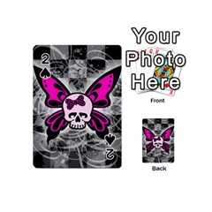 Skull Butterfly Playing Cards 54 (mini)