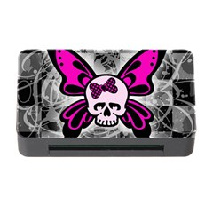 Skull Butterfly Memory Card Reader with CF