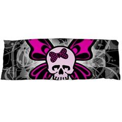 Skull Butterfly Body Pillow Cases Dakimakura (two Sides)