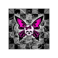 Skull Butterfly Acrylic Tangram Puzzle (4  x 4 )