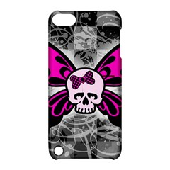 Skull Butterfly Apple Ipod Touch 5 Hardshell Case With Stand