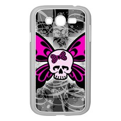 Skull Butterfly Samsung Galaxy Grand Duos I9082 Case (white)
