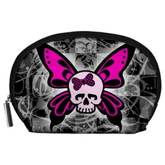 Skull Butterfly Accessory Pouches (large)