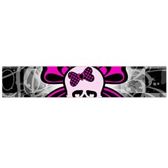 Skull Butterfly Flano Scarf (Large)