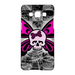 Skull Butterfly Samsung Galaxy A5 Hardshell Case