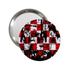 Emo Checker Graffiti 2 25  Handbag Mirrors