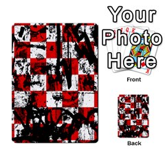 Emo Checker Graffiti Multi-purpose Cards (Rectangle)