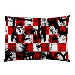 Emo Checker Graffiti Pillow Cases