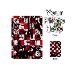 Emo Checker Graffiti Playing Cards 54 (Mini)