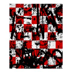 Emo Checker Graffiti Shower Curtain 60  X 72  (medium)