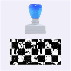 Emo Checker Graffiti Rubber Stamps (Medium)