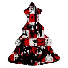 Emo Checker Graffiti Ornament (christmas Tree)
