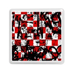 Emo Checker Graffiti Memory Card Reader (square)