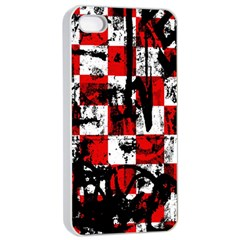 Emo Checker Graffiti Apple iPhone 4/4s Seamless Case (White)