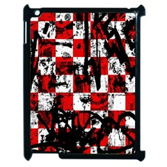 Emo Checker Graffiti Apple Ipad 2 Case (black)