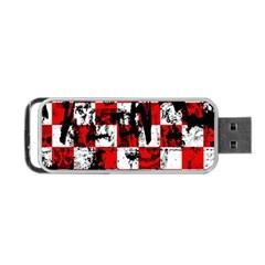 Emo Checker Graffiti Portable USB Flash (Two Sides)