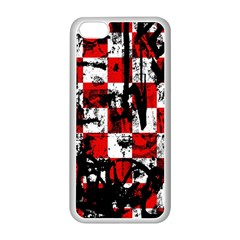Emo Checker Graffiti Apple Iphone 5c Seamless Case (white)