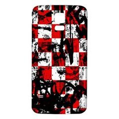 Emo Checker Graffiti Samsung Galaxy S5 Back Case (White)