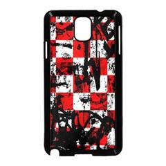 Emo Checker Graffiti Samsung Galaxy Note 3 Neo Hardshell Case (Black)