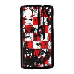 Emo Checker Graffiti Nexus 5 Case (Black)