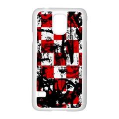 Emo Checker Graffiti Samsung Galaxy S5 Case (white)