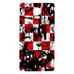 Emo Checker Graffiti Galaxy Note 4 Back Case