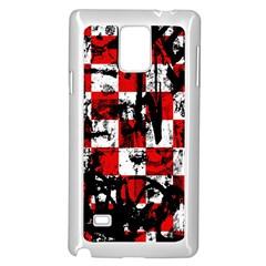 Emo Checker Graffiti Samsung Galaxy Note 4 Case (white)