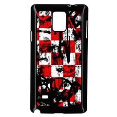Emo Checker Graffiti Samsung Galaxy Note 4 Case (Black)