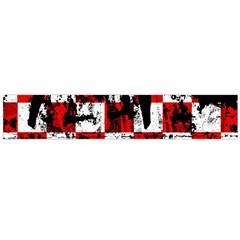 Emo Checker Graffiti Flano Scarf (Large)
