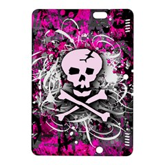 Pink Skull Splatter Kindle Fire Hdx 8 9  Hardshell Case