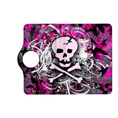 Pink Skull Splatter Kindle Fire Hd (2013) Flip 360 Case