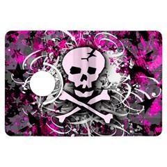 Pink Skull Splatter Kindle Fire Hdx Flip 360 Case