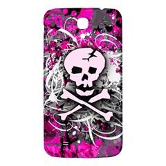 Pink Skull Splatter Samsung Galaxy Mega I9200 Hardshell Back Case