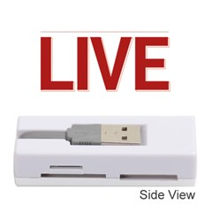 Love The Life You Live Memory Card Reader (Stick)