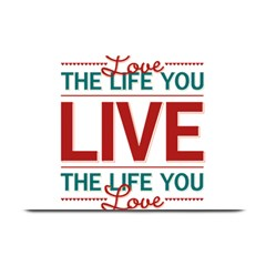 Love The Life You Live Plate Mats