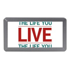 Love The Life You Live Memory Card Reader (Mini)