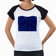 Blue Sphere Women s Cap Sleeve T