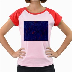 Blue Sphere Women s Cap Sleeve T-Shirt