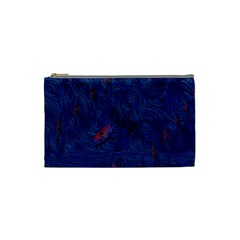 Blue Sphere Cosmetic Bag (small)