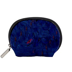 Blue Sphere Accessory Pouches (small)