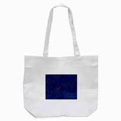 Blue Sphere Tote Bag (White)