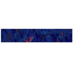 Blue Sphere Flano Scarf (Large)